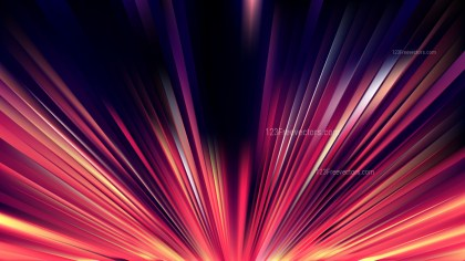 Pink and Black Radial Stripes Background