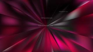 Pink and Black Radial Burst Background