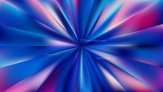 Pink and Blue Radial Sunburst Background