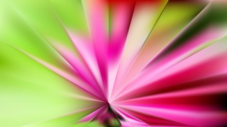 Abstract Pink and Green Radial Stripes Background