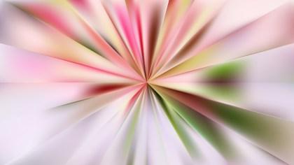 Pink and Green Burst Background Illustration