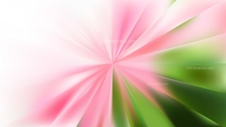 Pink and Green Radial Sunburst Background Image