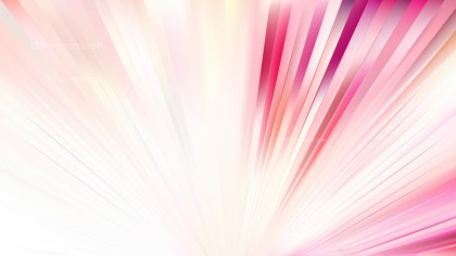Pink and White Rays Background