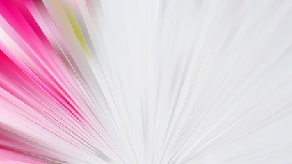 Pink and White Radial Background Graphic