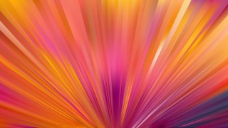 Pink and Yellow Radial Burst Background Illustration