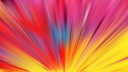 Pink and Yellow Burst Background