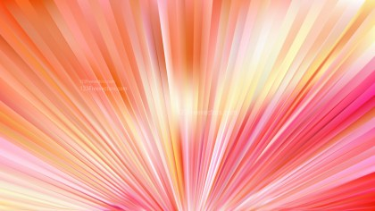 Pink and Yellow Radial Burst Background