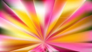Abstract Pink and Yellow Rays Background