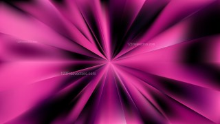 Abstract Purple and Black Sunburst Background