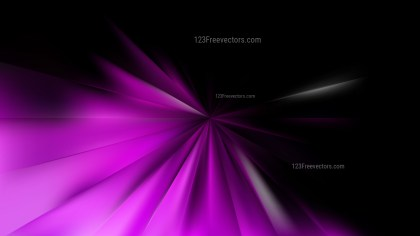 Abstract Purple and Black Starburst Background