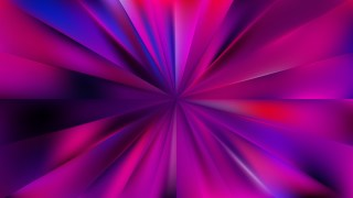 Abstract Purple and Black Radial Stripes Background