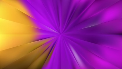 Purple and Gold Radial Background Vector