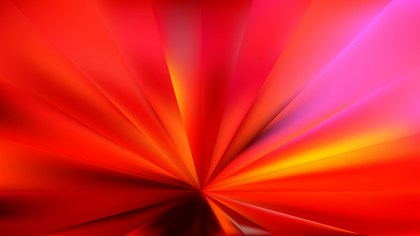 Abstract Red Radial Background