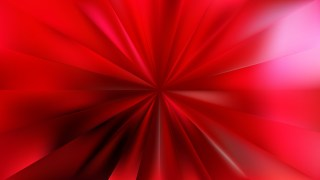 Red Sunburst Background Vector Art