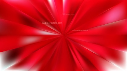Abstract Red Rays Background Vector Art