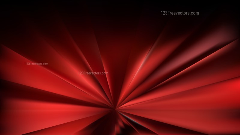 Cool Red Rays Background