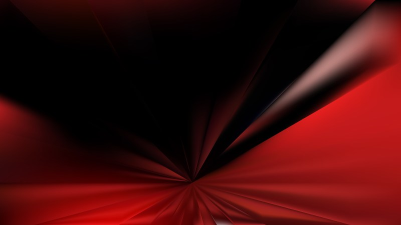 Cool Red Radial Burst Background Illustration