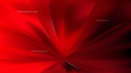 Cool Red Radial Burst Background Illustration
