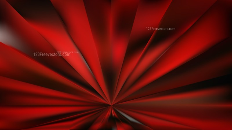 Abstract Cool Red Burst Background Image