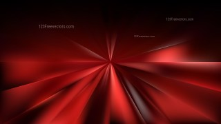 Cool Red Radial Background