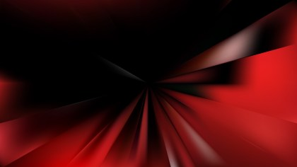 Cool Red Burst Background