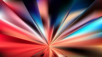 Abstract Red and Blue Rays Background Vector Graphic