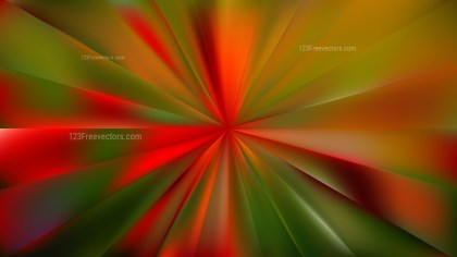 Red and Green Radial Background Illustrator