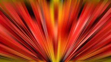 Abstract Red and Yellow Radial Stripes Background