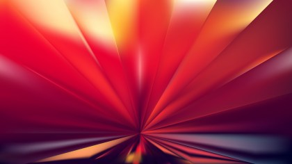 Abstract Red and Yellow Radial Stripes Background Vector Illustration