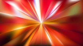 Red and Yellow Radial Stripes Background Design