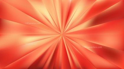 Red and Yellow Radial Burst Background Vector Graphic