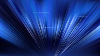 Royal Blue Radial Stripes Background