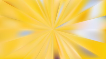 Abstract Yellow Radial Sunburst Background Image