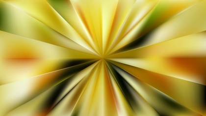 Yellow Starburst Background
