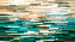 Abstract Beige and Turquoise Horizontal Lines Background