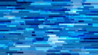 Abstract Blue Horizontal Lines and Stripes Background Vector Illustration