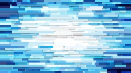 Blue and White Horizontal Lines Background