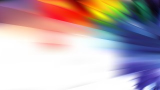 Abstract Colorful Lines Background Illustration