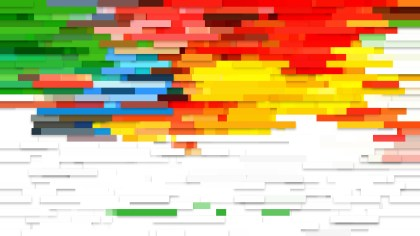 Abstract Colorful Horizontal Lines Background
