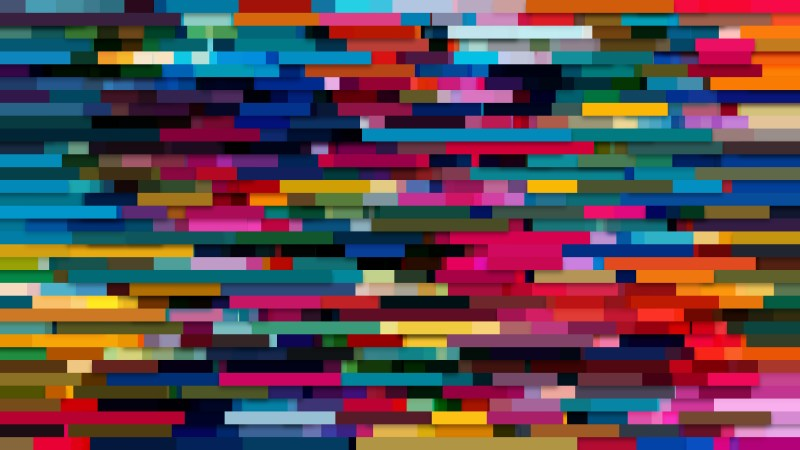 Colorful Horizontal Lines Background Graphic