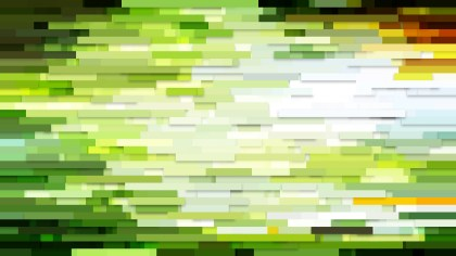 Abstract Green and White Horizontal Lines and Stripes Background