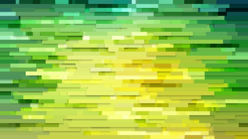 Abstract Green and Yellow Horizontal Lines Background Graphic