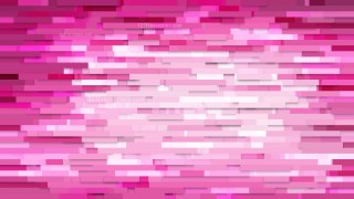Abstract Hot Pink Horizontal Lines and Stripes Background Illustration