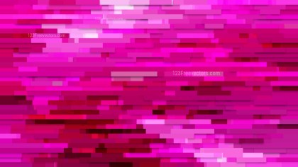 Hot Pink Horizontal Lines Background