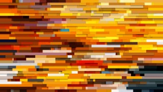 Abstract Orange Horizontal Lines Background Illustrator
