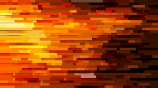 Abstract Orange Horizontal Lines and Stripes Background