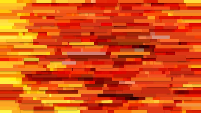 Orange Horizontal Lines Background Design