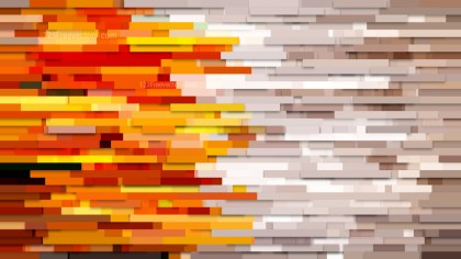 Abstract Orange Horizontal Lines and Stripes Background Vector Image