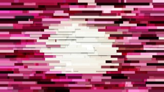 Abstract Pink Horizontal Lines and Stripes Background