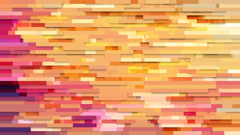 Pink and Yellow Horizontal Lines Background